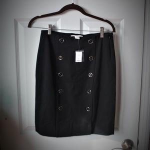 Button Detail Mini Skirt NWT